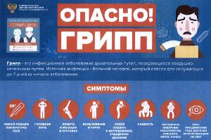 ГАУЗ «Городская поликлиника 10» напоминает о  профилактике гриппа и прививках