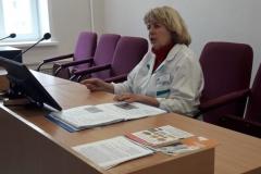 """21 мая в ГАУЗ """"Городская поликлиника №10"""" прошла школа здоровья по профилактике болезней органов кровообращения."""
