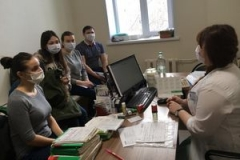 ГАУЗ «Городская поликлиника №10» проводит беседы и круглые столы на тему: «Корь. Защити себя и окружающий мир»