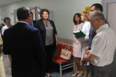 ГАУЗ «Городская поликлиника №10» посетили главный внештатный специалист по медицинской профилактике Малышев Ю. А. и главный внештатный специалист терапевт ПФО Куняева Т.А.