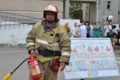 В ГАУЗ «Городская поликлиника №10»  было проведено плановое пожарно-тактическое занятие