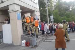 20 сентября в ГАУЗ «Городская поликлиника №10» было проведено пожарно-тактическое занятие